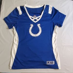 Majestic Indianapolis Colts jersey tshirt
